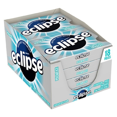Eclipse Sugar Free Gum Polar Ice