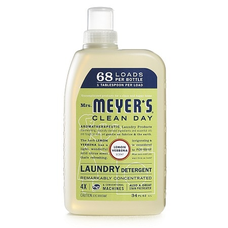 Mrs. Meyer's Clean Day Laundry Detergent, 68 Loads Lemon Verbena