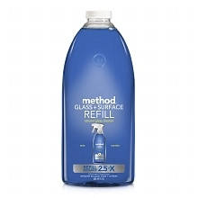 method Glass + Surface Cleaner, Refill Mint