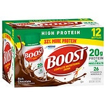 Boost High Protein High Protein Complete Nutritional Drink 12 Pack Rich Chocolate