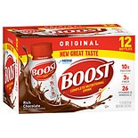Boost Original Complete Nutritional Drink 12 Pack Rich Chocolate