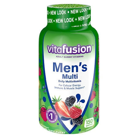 Vitafusion Men's Daily Multivitamin, Gummy