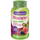 Vitafusion Women's Daily Multivitamin Dietary Supplement Gummies Mixed Berries