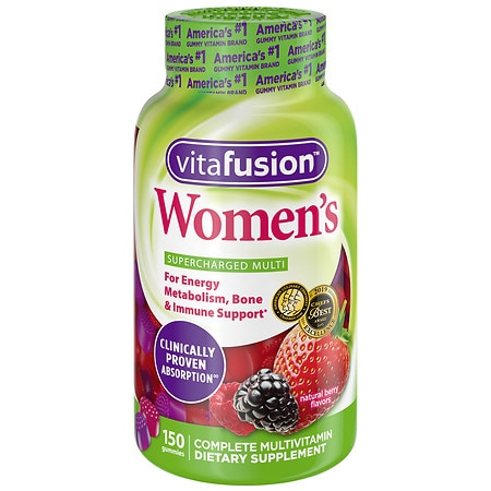 Vitafusion Women's Daily Multivitamin, Gummies