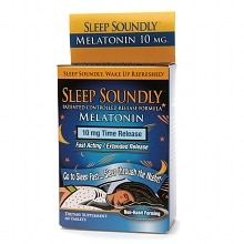 Sleep Soundly Melatonin 10mg, Time Release Tablets