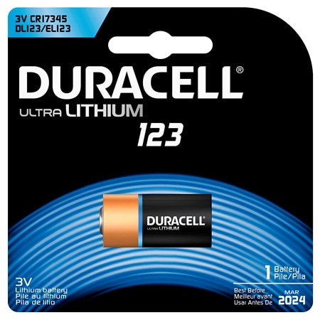 Duracell Ultra Photo Lithium Battery 123