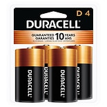 Duracell Coppertop Alkaline Batteries DD