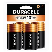 Coppertop Alkaline Batteries DD