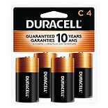 Duracell Coppertop Alkaline Batteries C C