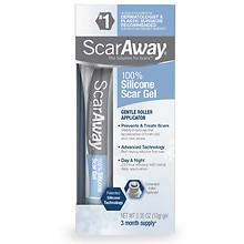 ScarAway Advanced Formula Scar Gel 100% Silicone for Scars