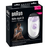 Braun Silk-epil 3 Epilator, Model l 3170 Purple