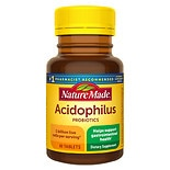 Nature Made Acidophilus Dietary Supplement Tablets