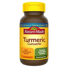 Turmeric Herbal Supplement Capsules