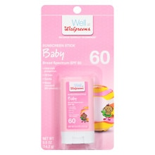 Baby Sunscreen Stick, SPF 60+