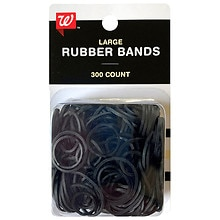 Studio 35 Beauty Silicone Rubberbands Black