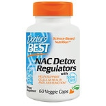 Doctor's Best Best NAC Detox Regulators, Veggie Caps