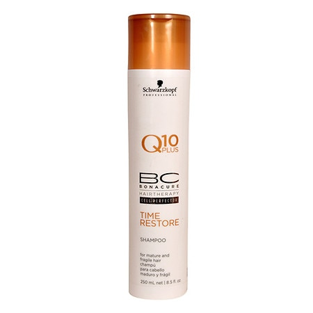 Schwarzkopf Professional Bonacure Q10 Plus Time Restore Shampoo for Mature and Fragile Hair