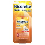 Nicorette Nicotine Gum, 4mg Fruit Chill