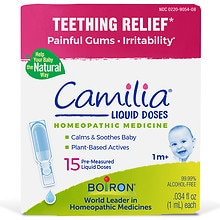 Camilia Homeopathic Teething Liquid 15 Pack