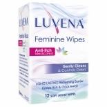 Luvena Anti-Itch Medicated Wipes, Individual Wipes