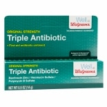 Walgreens First Aid Triple Antibiotic Ointment Original Strength