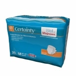 Walgreens Certainty Fitted Briefs Medium Size Medium