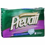 Prevail Unisex Adjustable Underwear Super Plus Absorbency Small/Medium
