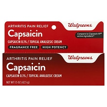Capsaicin Arthritis Pain Relief Cream