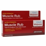 Walgreens Muscle Rub Pain Relief Cream