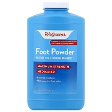 Medicated Foot Powder