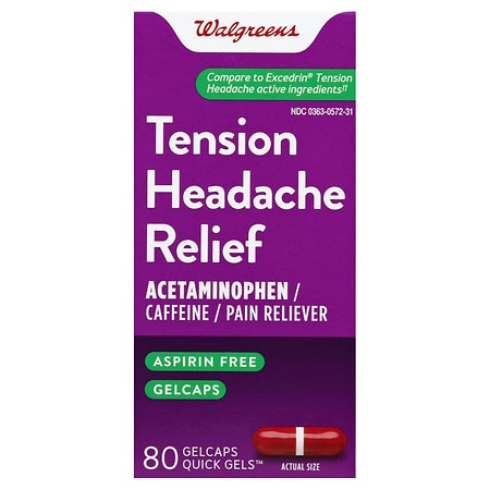 Walgreens Tension Headache Relief Gelcaps