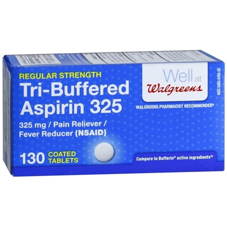 Walgreens Tri-Buffered Aspirin Tablets