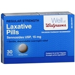 Walgreens Laxative Pills Regular Strength