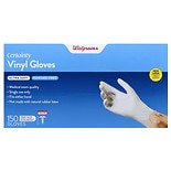 Walgreens Certainty Soft Vinyl Exam Gloves One Size