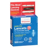 Walgreens Trueplus Super Thin Lancets