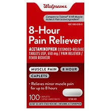 Walgreens Pain Reliever Caplets
