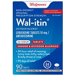 Walgreens Wal-Itin 24 Hour Allergy Relief Tablets