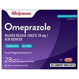 Walgreens Omeprazole Acid Reducer