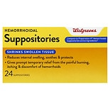 Walgreens Hemorrhoidal Suppositories