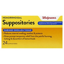 Hemorrhoidal Suppositories