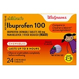 Walgreens Junior Strength Ibuprofen Chewables Grape