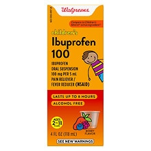 Walgreens Children's Ibuprofen 100 Oral Suspension Berry
