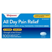 All Day Pain Relief Caplets, Caplets