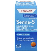 Walgreens Senna-S Laxative Tablets