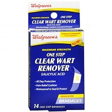 Walgreens One Step Clear Wart Remover Bandages
