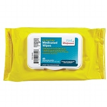 Walgreens Pre-Moistened Medicated Wipes