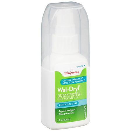 Walgreens Wal-Dryl Anti-Itch Spray