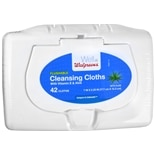 Walgreens Flushable Cleansing Cloths