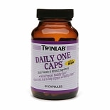 Twinlab Daily One Caps Multivitamin & Mineral, Capsules
