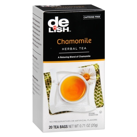 Good & Delish Caffeine Free Herbal Tea Bags Chamomile